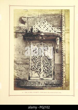 Image  from page 163 of 'Architecture at Ahmedabad, the Capital of Goozerat, photographed by Colonel Biggs, ... With an historical and descriptive sketch, by T. C. H., ... and architectural notes by J. Fergusson, etc' by The 0028. - Stock Photo