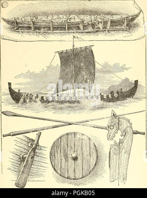 'A new history of the United States. The greater republic, embracing the growth and achievements of our country from the earliest days of discovery and settlement to the present eventful year ..' (1900) - Stock Photo