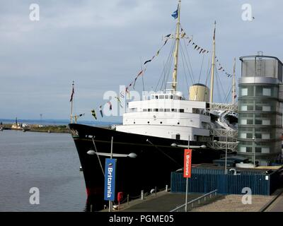 Royal yaght Britannia, Edinburgh, Scotland. - Stock Photo
