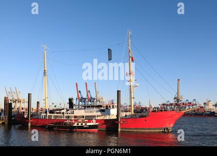 Museums harbour Oevelgoenne, Hamburg, Germany, Europe - Stock Photo