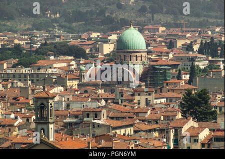Jewish Temple of Florence - Stock Photo