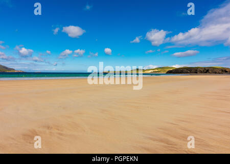 Balnakiel Bay near Durness, North Coast Scotland - Stock Photo