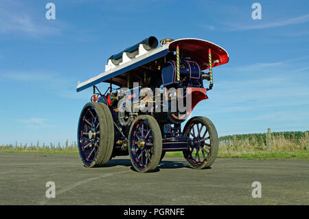 Fowler B6 Showmans Engine model 6 inch scale - Stock Photo