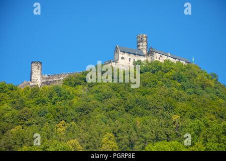 Bezdez Castle in Northern Bohemia, Czech Republic - Stock Photo