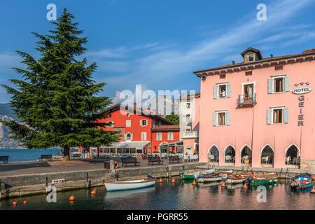 Torbole, Lake Garda, Trentino, Italy, Europe - Stock Photo