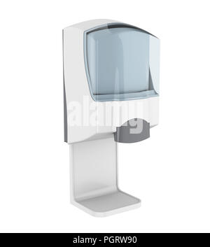 Antiseptic Disinfectant Hand Wash Gel Dispenser Mounted On