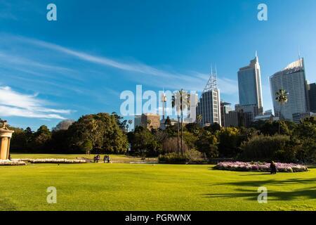 Royal Botanical Garden, Sydney Summer 2018 - Stock Photo