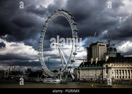 London Eye, London - Stock Photo