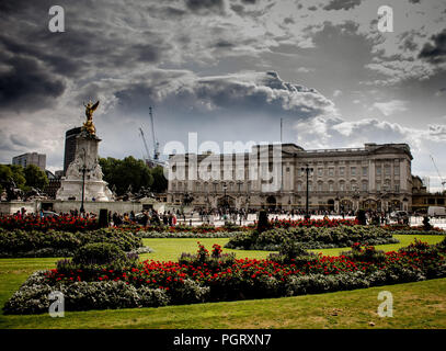 London,Buckingham Palace - Stock Photo