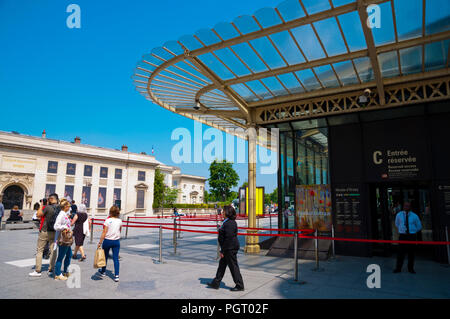 Gare Musee d'Orsay, St Germain des Pres, Left Bank, Paris, France - Stock Photo
