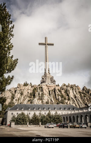 """Francisco Franco  mausoleum near Madrid to be turned into a place of """"reconciliation"""" for a country still coming to terms with the dictator's legacy. - Stock Photo"""