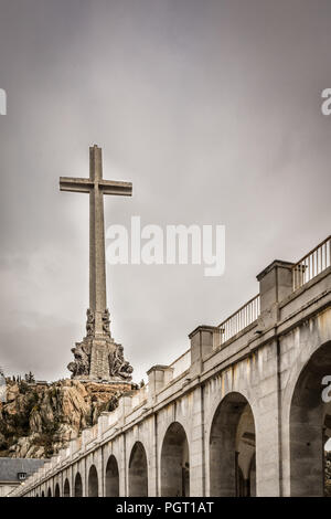 "Francisco Franco  mausoleum near Madrid to be turned into a place of ""reconciliation"" for a country still coming to terms with the dictator's legacy. - Stock Photo"