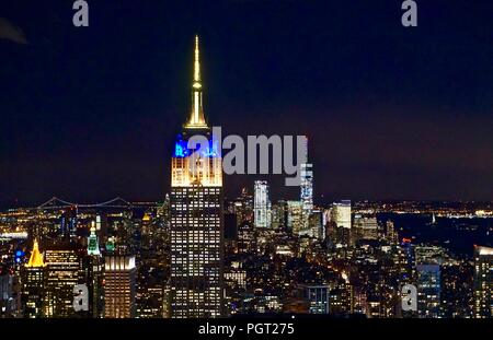Empire State Building, New York City - Stock Photo