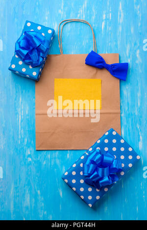 Stylish vertical card template - Stock Photo