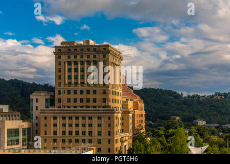Buncombe County Courthouse in Asheville, North Carolina - Stock Photo