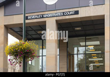 Beverley Magistrates Court in Beverley, East Yorkshire - Stock Photo