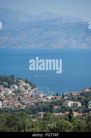 kassiopi, corfu, kerkyra, greece. - Stock Photo