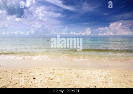 The White Sand Beach. Koh Chang island, Thailand. - Stock Photo
