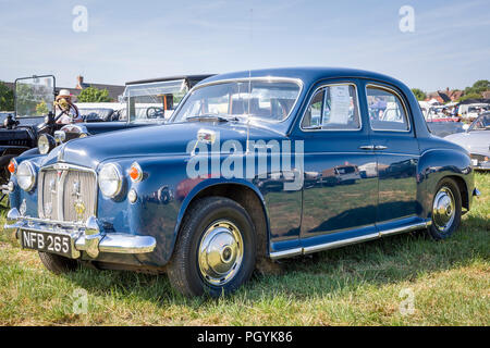 An old Rover 100 saloon on display at Heddington Country Show 2018 in Wiltshire England UK - Stock Photo