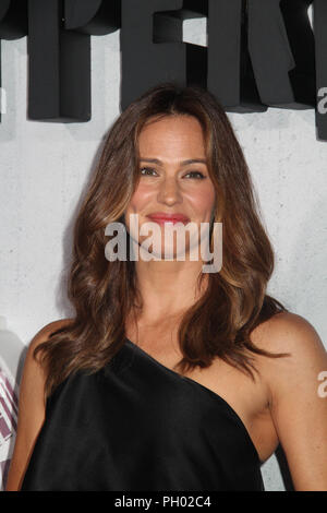 Los Angeles, USA. 28th Aug 2018. Jennifer Garner  08/28/2018 The World Premiere of 'Peppermint' held at the Regal Cinemas L.A. Live in Los Angeles, CA  Photo: Cronos/Hollywood News Credit: Cronos/Alamy Live News - Stock Photo