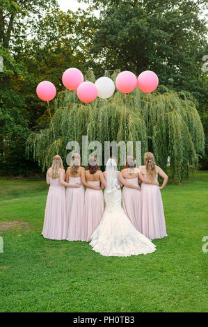 wedding ballons - Stock Photo