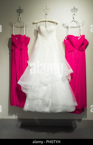 wedding dresses - Stock Photo