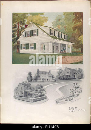 illustration of an old fashioned house - Stock Photo