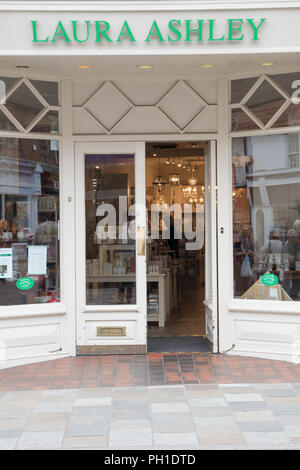 The Laura Ashley shop in Beverley, East Yorkshire - Stock Photo
