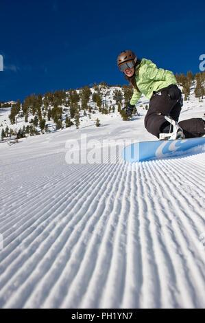 Groomers at Mt. Rose Ski Tahoe - 2012 - Stock Photo