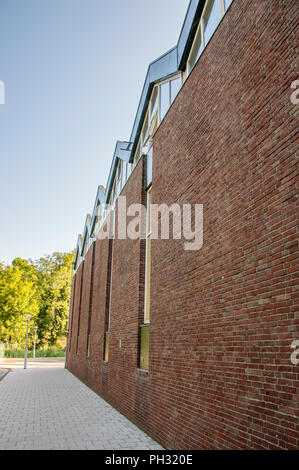 Wall Of The The Church Of Jesus Christ Of Latter-Day Saints At Betondorp Amsterdam East The Netherlands 2018 - Stock Photo