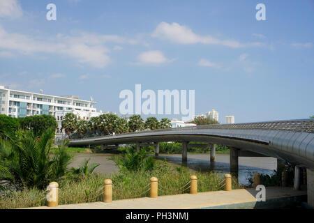 Cầu Ánh Sao (Rainbow Bridge or Starlight Bridge), Ho Chi Minh City (Saigon) Vietnam