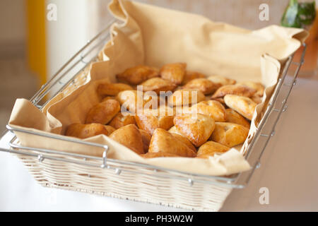 Coffee break, catering a business conference - Stock Photo