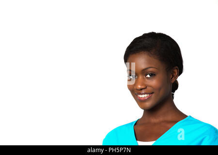 Diverse and empowered nurse ready for work. - Stock Photo
