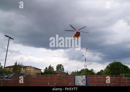 Essex and Herts Air Ambulance - Stock Photo