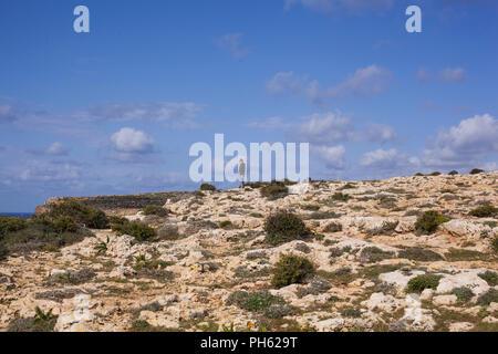 Il-Majjistral Nature & History Park, Malta - Stock Photo