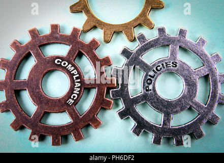 compliance and polisies concept - Stock Photo