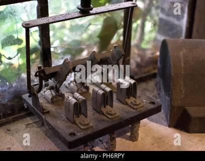 old Water-mill in lower sachsony - Stock Photo