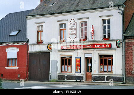 AJAXNETPHOTO. 2001. SOMME, FRANCE. - TYPICAL TABAC BAR ON ROAD TO ALBERT. PHOTO:JONATHAN EASTLAND/AJAX REF:6994_02_1 - Stock Photo