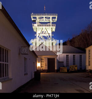 The Mining Museum Siciliaschacht in Lennestadt - Stock Photo