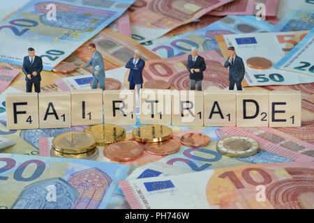 Symbolfoto Wirtschaftsbegriff Fairtrade - Stock Photo