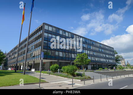 LVR Landeshaus, Kennedy-Ufer, Koeln, Nordrhein-Westfalen, Deutschland - Stock Photo