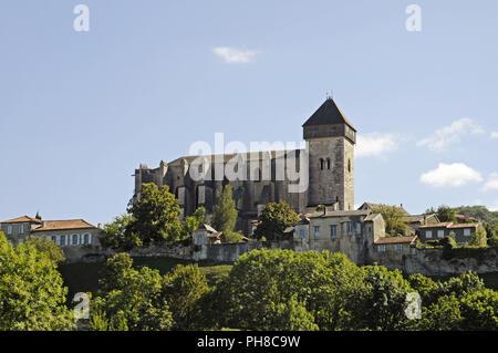 Cathedral, Saint Bertrand de Comminges, France - Stock Photo