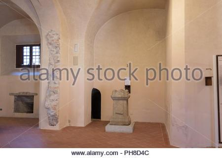 museo archeologico della linguella, portoferraio, isola d'elba, italy - Stock Photo
