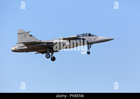 20. CIAF 2011: JAS39 Gripen - Stock Photo