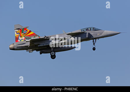 20. CIAF 2013: JAS39 Gripen - Stock Photo