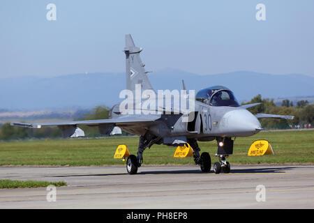 CIAF 2013: JAS39 Gripen der ungarischen Luftwaffe. - Stock Photo