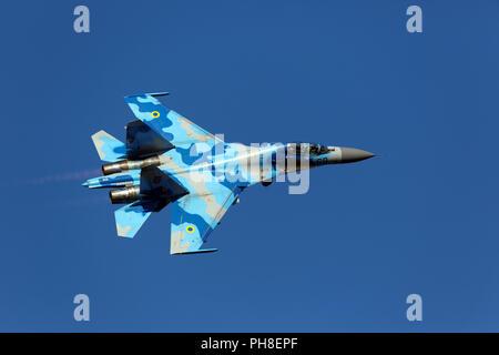 Suchoi Su - 27 UB - Stock Photo