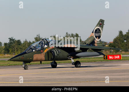 CIAF 2013: Dassault/Dornier Alpha Jet. - Stock Photo