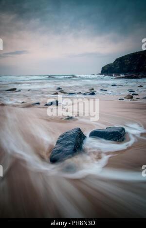 Waves on Cornwall Beach