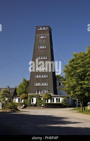 Rhein-Weser Tower, Kirchhundem, Germany - Stock Photo